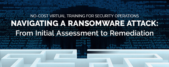 navigating a ransomware attack-email
